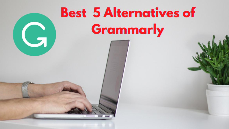 Top 5 alternatives of Grammarly